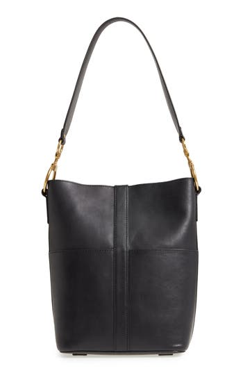 Frye Ilana Harness Leather Bucket Hobo