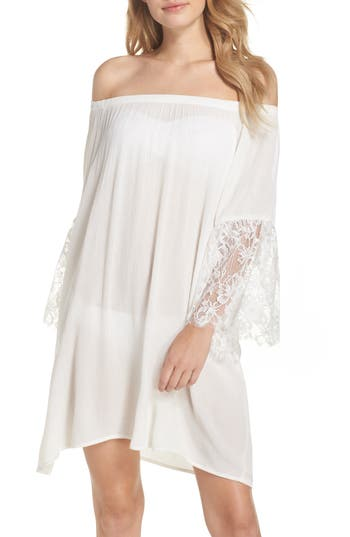 Chelsea28 Off the Shoulder Cover-Up Dress