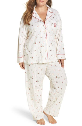 Lauren Ralph Lauren Cotton Pajamas (Plus Size)