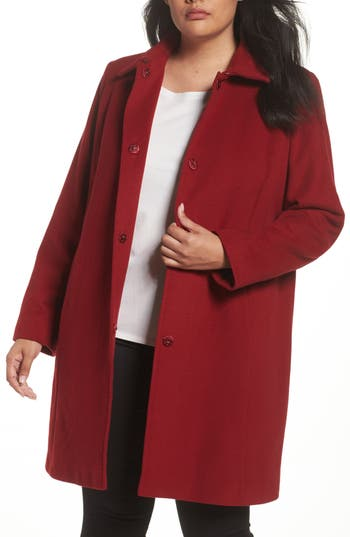 Persona by Marina Rinaldi Norvegia Club Car Coat (Plus Size)