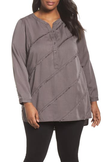 NIC+ZOE Tranquil Tunic Top (Plus Size)