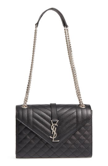 Saint Laurent Medium Calfskin Shoulder Bag