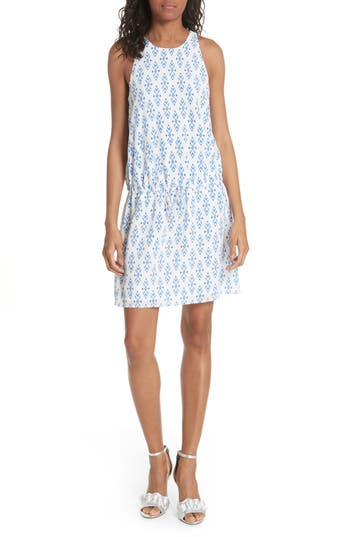 Diega Drawstring Silk Dress by Joie