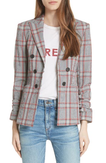 caldwell-plaid-dickey-jacket by veronica-beard
