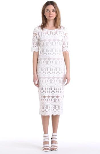 Lace Body-Con Dress, video thumbnail
