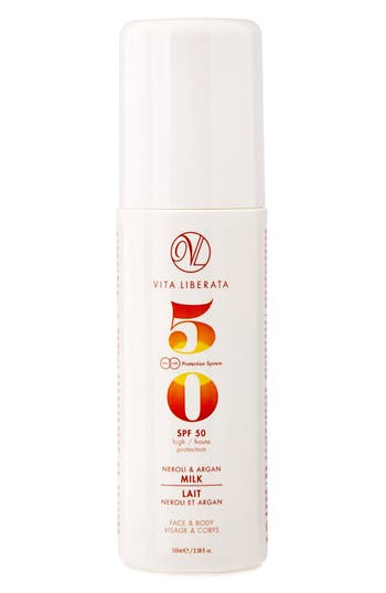 Alternate Image 1 Selected - VITA LIBERATA Neroli & Argan Milk for Face & Body SPF 50