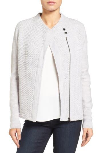 Caslon® Knit Sweater Coat (Regular & Petite)