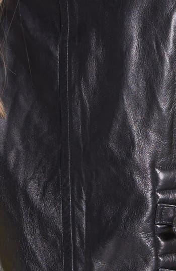 Alternate Image 5  - Vince Camuto Faux Leather Moto Vest