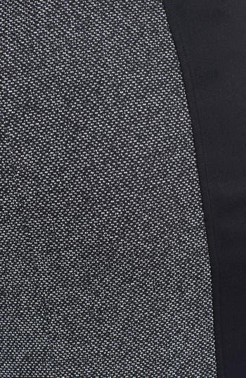 Alternate Image 3  - Sejour Print Ponte Pencil Skirt (Plus Size)