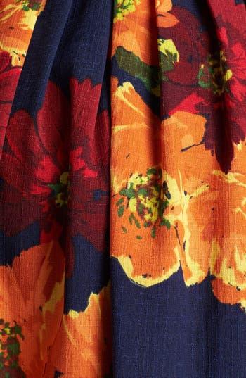 Alternate Image 3  - Ellen Tracy Print Sleeveless Fit & Flare Dress