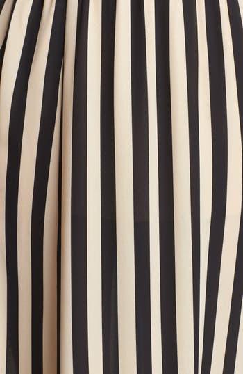 Alternate Image 3  - Blu Pepper Stripe Maxi Skirt (Juniors)