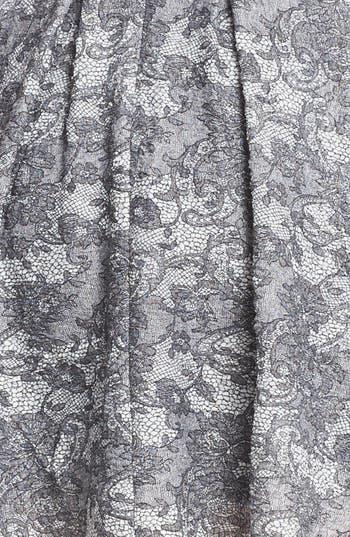 Alternate Image 3  - Betsey Johnson Lace Print Fit & Flare Dress