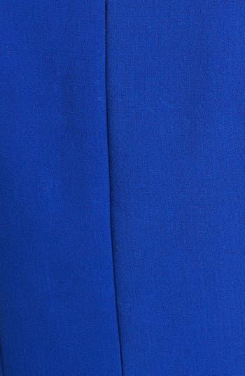 Alternate Image 3  - Eliza J Seamed Double Knit Crepe Fit & Flare Dress (Regular & Petite)