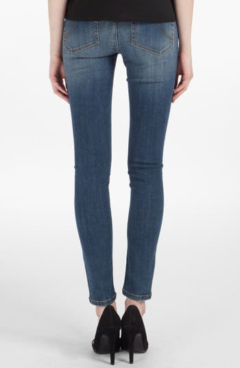 Alternate Image 2  - maje 'Robin' Ankle Stretch Skinny Jeans