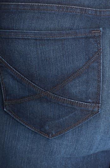 Alternate Image 3  - NYDJ 'Hayden' Stretch Straight Leg Jeans (Burbank) (Plus Size)