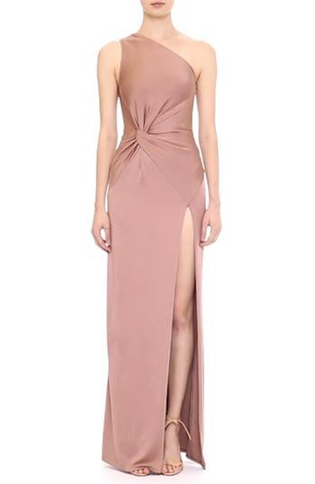 One-Shoulder Twist Gown, video thumbnail