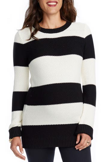 Rosie Pope Sara Stripe Maternity Sweater