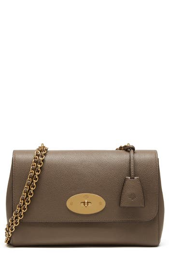 Mulberry Medium Lily Convertible Leather Crossbody Clutch