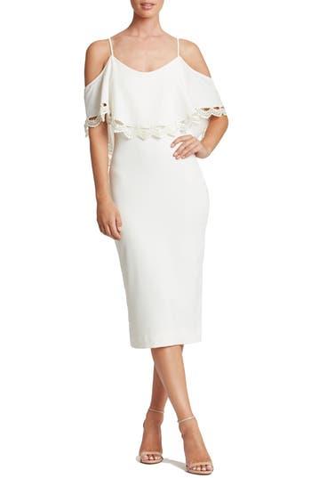Dress the Population Beth Cold Shoulder Dress