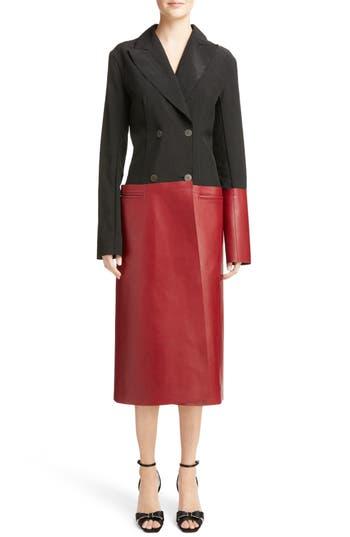 Loewe Paneled Nappa Leather Coat