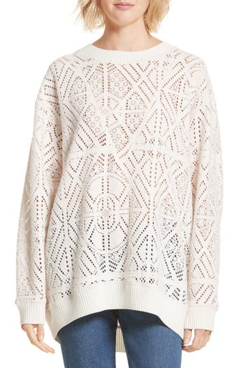 See by Chloé Lace Knit Sweater