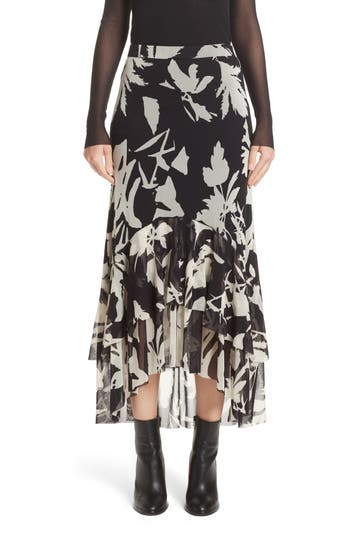 Fuzzi Floral Print Tulle R..