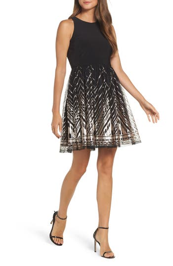Vince Camuto Sequin Fit & ..