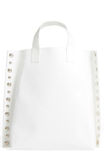 Tricot Comme des Gar?ons Studded Faux Leather Tote