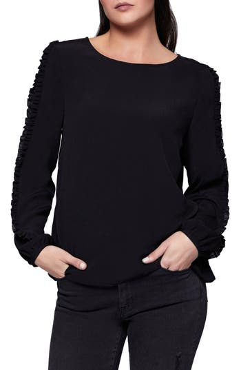 Sanctuary Ruffle Sleeve Josie Top