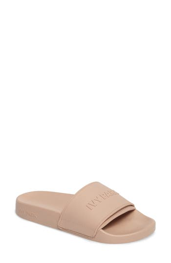 IVY PARK? Embossed Neoprene Lined Slide Sandal (Women)