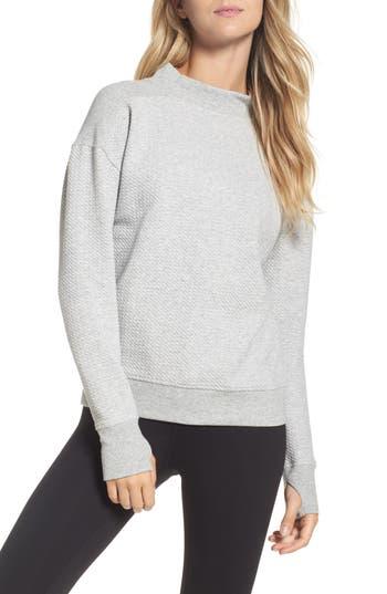 Zella Textured Sweatshirt
