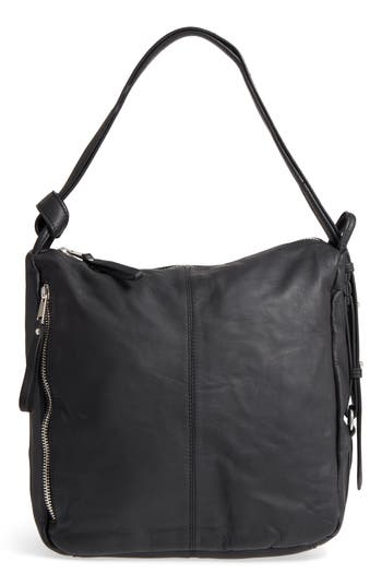 Topshop Premium Leather Sling Shoulder Bag