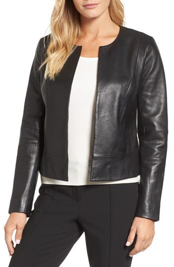 Emerson Rose Clean Leather Jacket