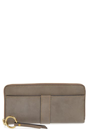 Frye Ilana Harness Leather Zip Wallet