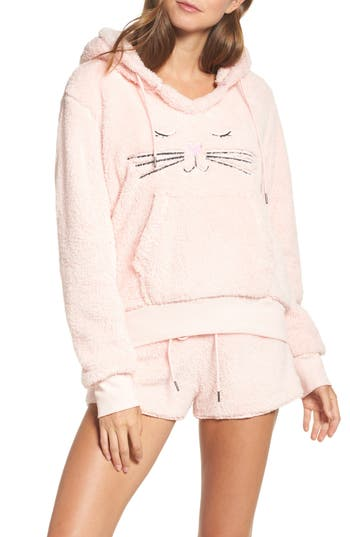 COZY ZOE Hooded Plush Pajamas