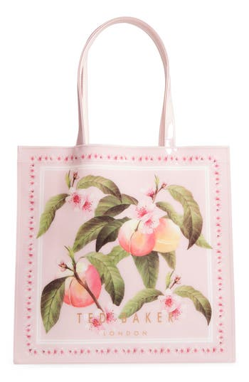 Ted Baker London Large Icon - Macon Peach Blossom Tote
