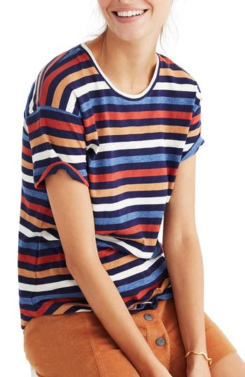 Madewell Whisper Cotton Stripe..