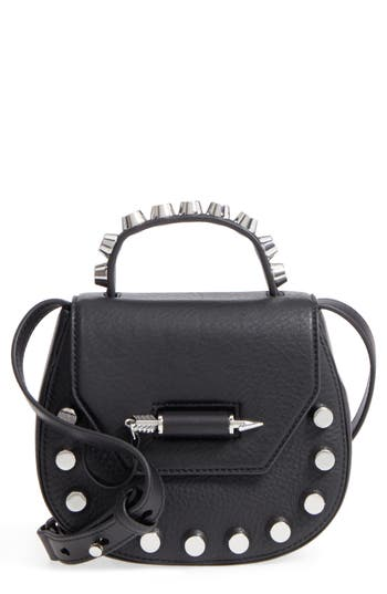 Mackage Wilma Studded Leather Crossbody Bag