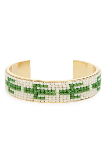 Beaded Cuff Bracelet by Madewell