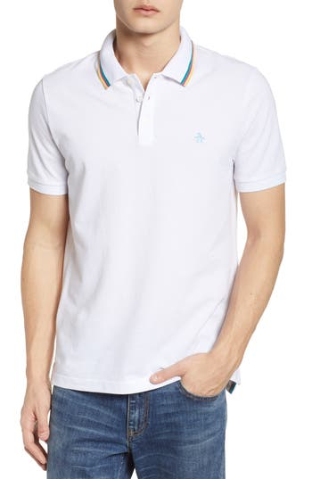 Original Penguin Birdseye Tipped Piqu Polo