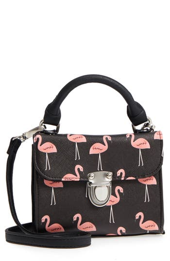 Print Box Crossbody Bag by Deb & Dave Accessories