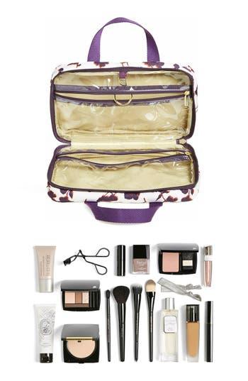 Hanging Nylon Cosmetics Case,                             Alternate thumbnail 5, color,                             Purple Iris