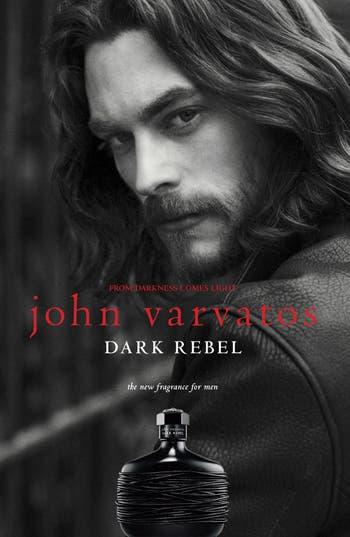 John Varvatos 'Dark Rebel' Eau de Toilette,                             Alternate thumbnail 2, color,                             No Color