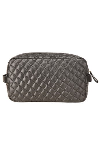 Alternate Image 5  - steph&co. 'Viveca' Quilted Black Cosmetics Case (Limited Edition) (Nordstrom Exclusive)