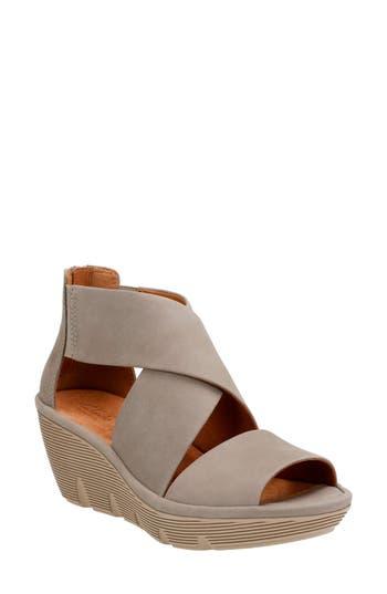 Clarks? Clarene Glamor Wedge Sandal (Women)