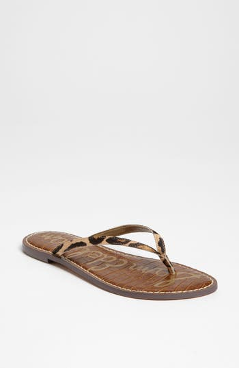 Gracie Genuine Calf Hair Sandal by Sam Edelman
