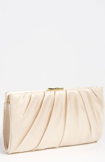 Nina 'Larry' Satin Clutch