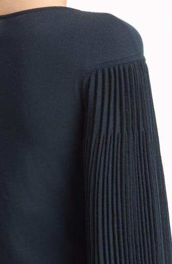 Alternate Image 3  - Alexander McQueen Pleated Sleeve Dress