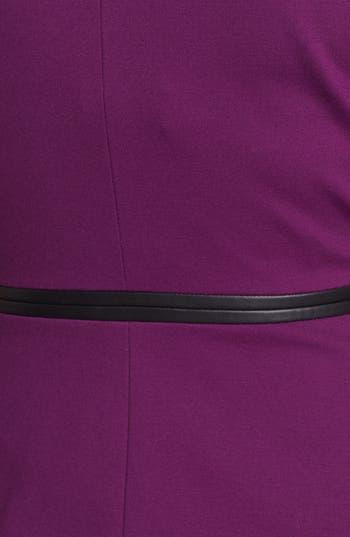 Alternate Image 3  - Classiques Entier® 'Sunmosa' Leather Trim Top
