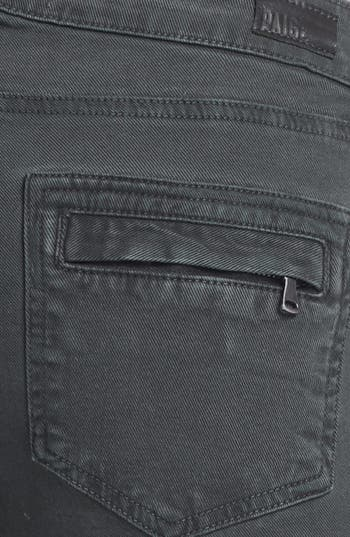 Alternate Image 3  - Paige Denim 'Marley' Seam Detail Skinny Jeans (Black Current)